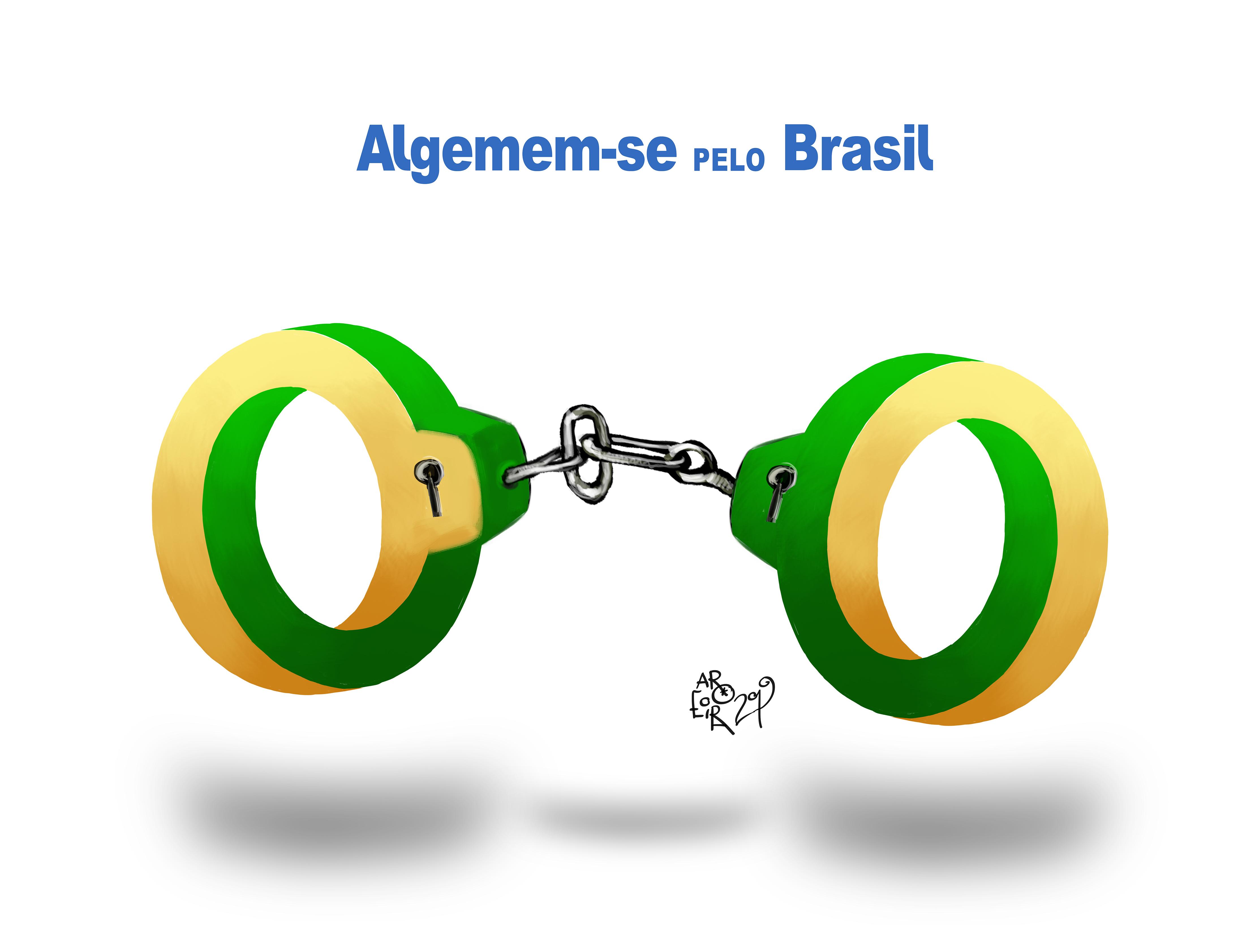 Imagem do Dia: Algemem-se pelo Brasil