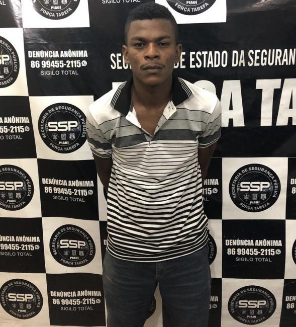 Teresina/PI – Acusado de assassinar homem com dez facadas é preso