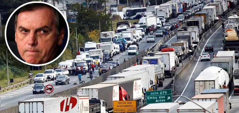 Caminhoneiros prometem greve nacional e se dizem traídos por Bolsonaro