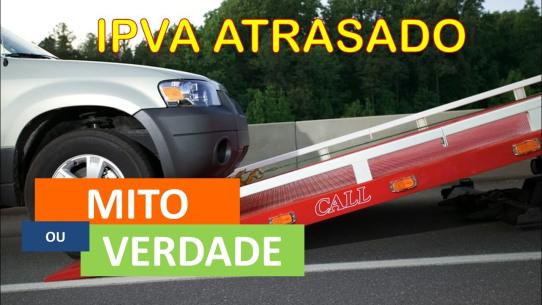 PL proíbe apreensão de veículo por atraso de IPVA e outros tributos