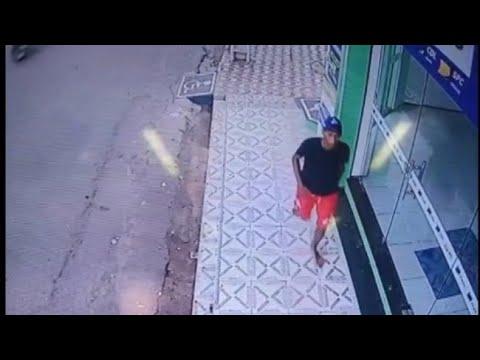 Pedreiras/MA – Vídeo de câmeras de segurança mostra idoso sendo assaltado
