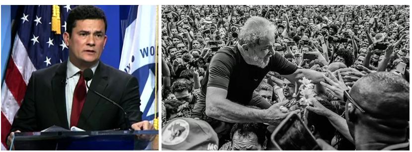 Pesquisa Datafolha mostra Lula e Moro como os nomes mais fortes para 2022