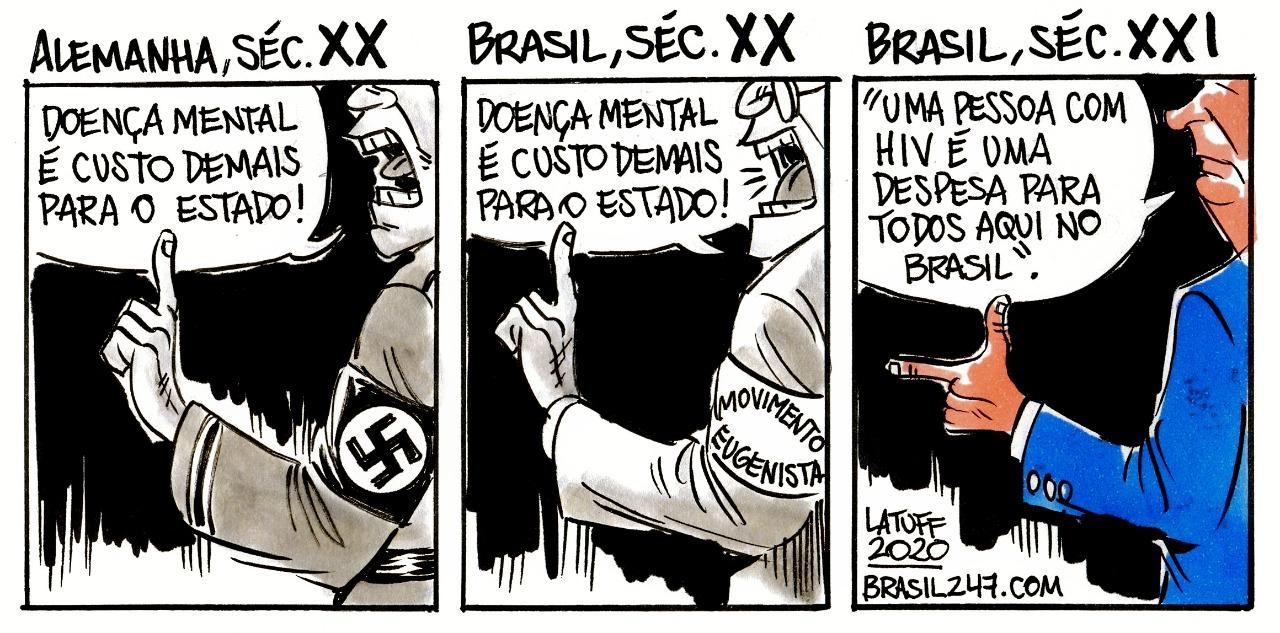 Imagem do Dia: Alemanha no século XX. Brasil nos séculos XX e XXI