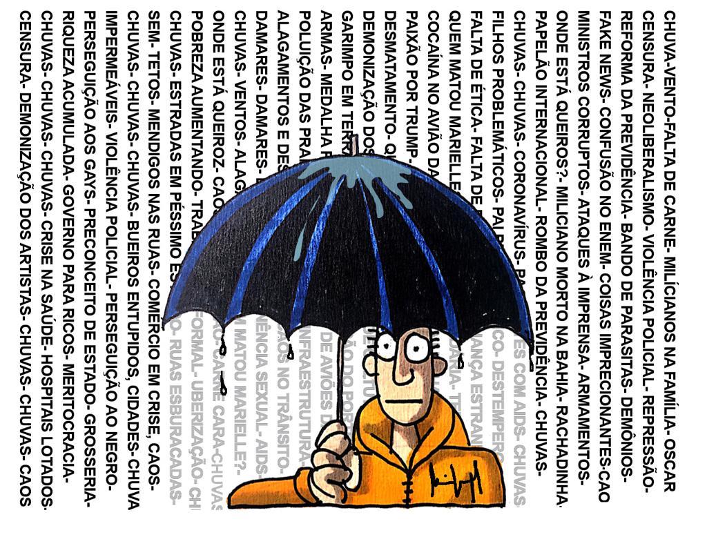 Imagem do Dia: Miguel Paiva – Chove a cântaros