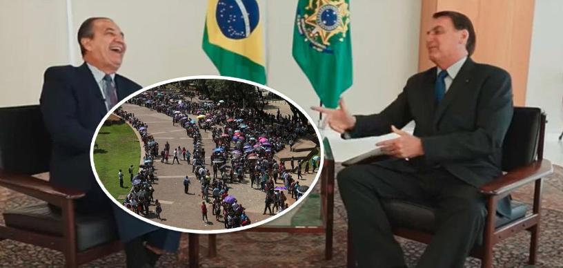 """Bolsonaro debocha de desempregados e diz que vai lançar programa """"minha primeira empresa"""""""