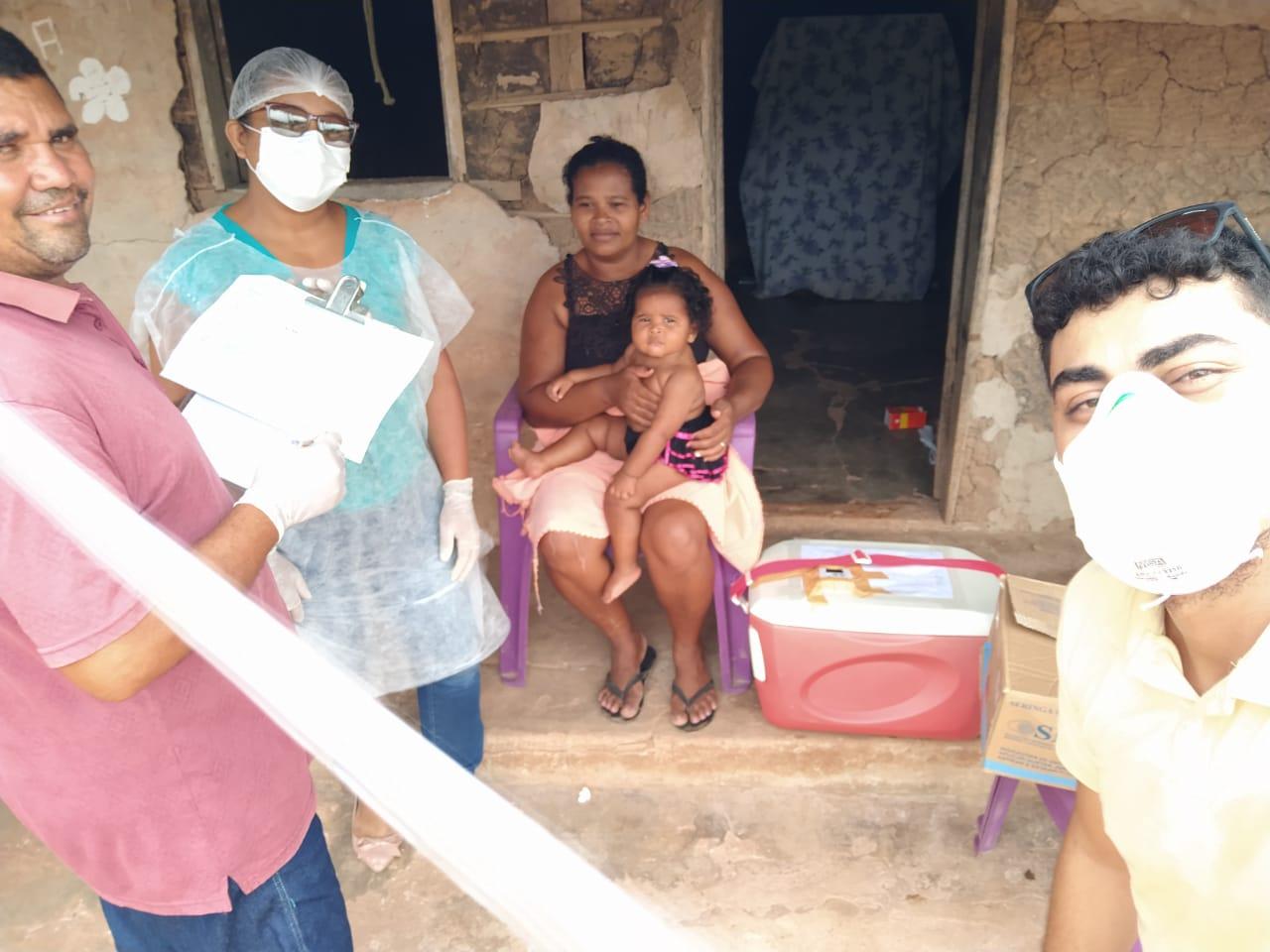 BOM JARDIM / MA – Prefeito médico dá exemplo de gestão com responsabilidade em porta a porta cuidando da saúde população