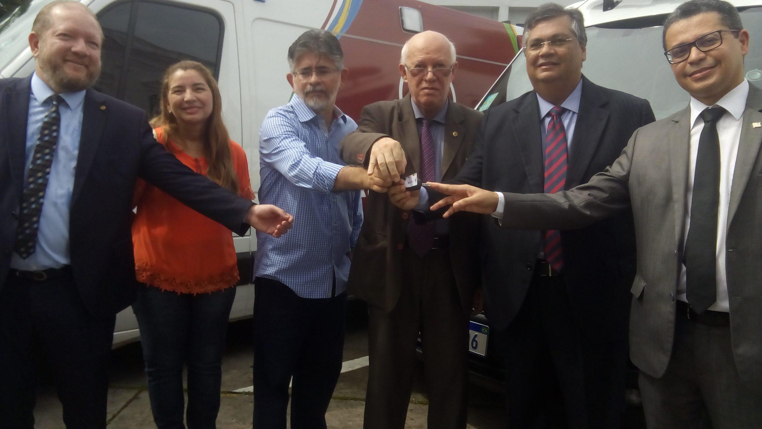 São Luís /MA – Mais 11 municípios receberam do governo novas ambulâncias.