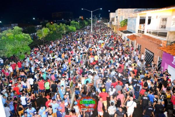 COROATÁ / MA – Carnaval do povão foi marcado por segurança e alegria dos foliões