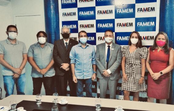 São Luís/MA – Famem recebe representantes da rede de controle da gestão pública