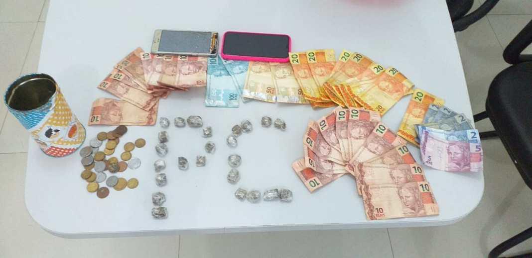 Santa Rita/MA – Duas pessoas são presas por tráfico de drogas