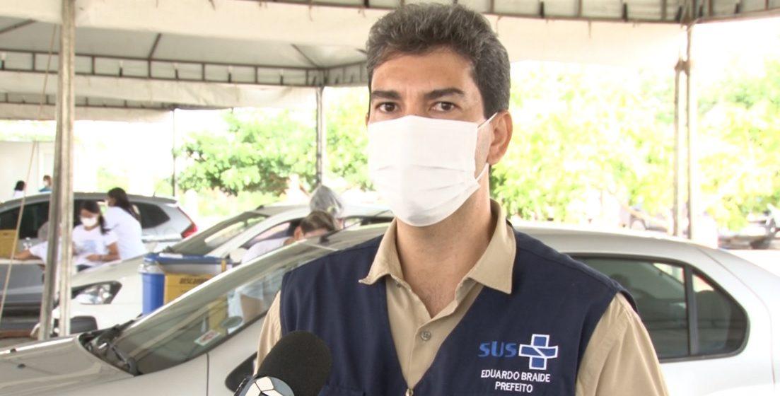 São Luís/MA – Eduardo Braide confirma a chegada de mais 3.500 doses da vacina chinesa coronavac