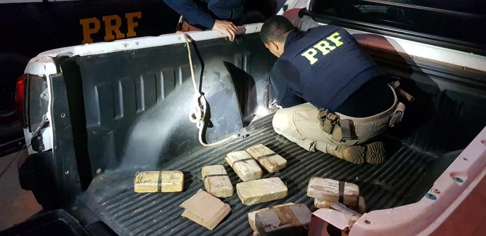 Santa Rita/MA – PRF apreende 14 tabletes de pasta base de cocaína na BR-135 no MA