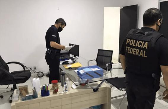 Pinheiro/MA e Teresina/PI – Polícia Federal realiza Operação Estoque Zero