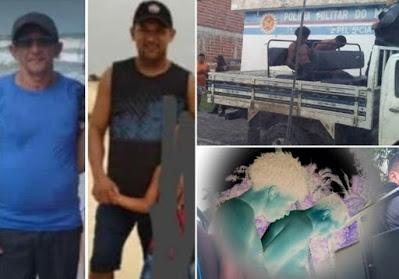 Primeira Cruz/MA – Pai e filho são mortos a tiros e golpes de facão após assalto no interior do Maranhão