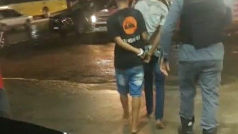 São Luís/MA – Bandidos são presos durante assalto à farmácia
