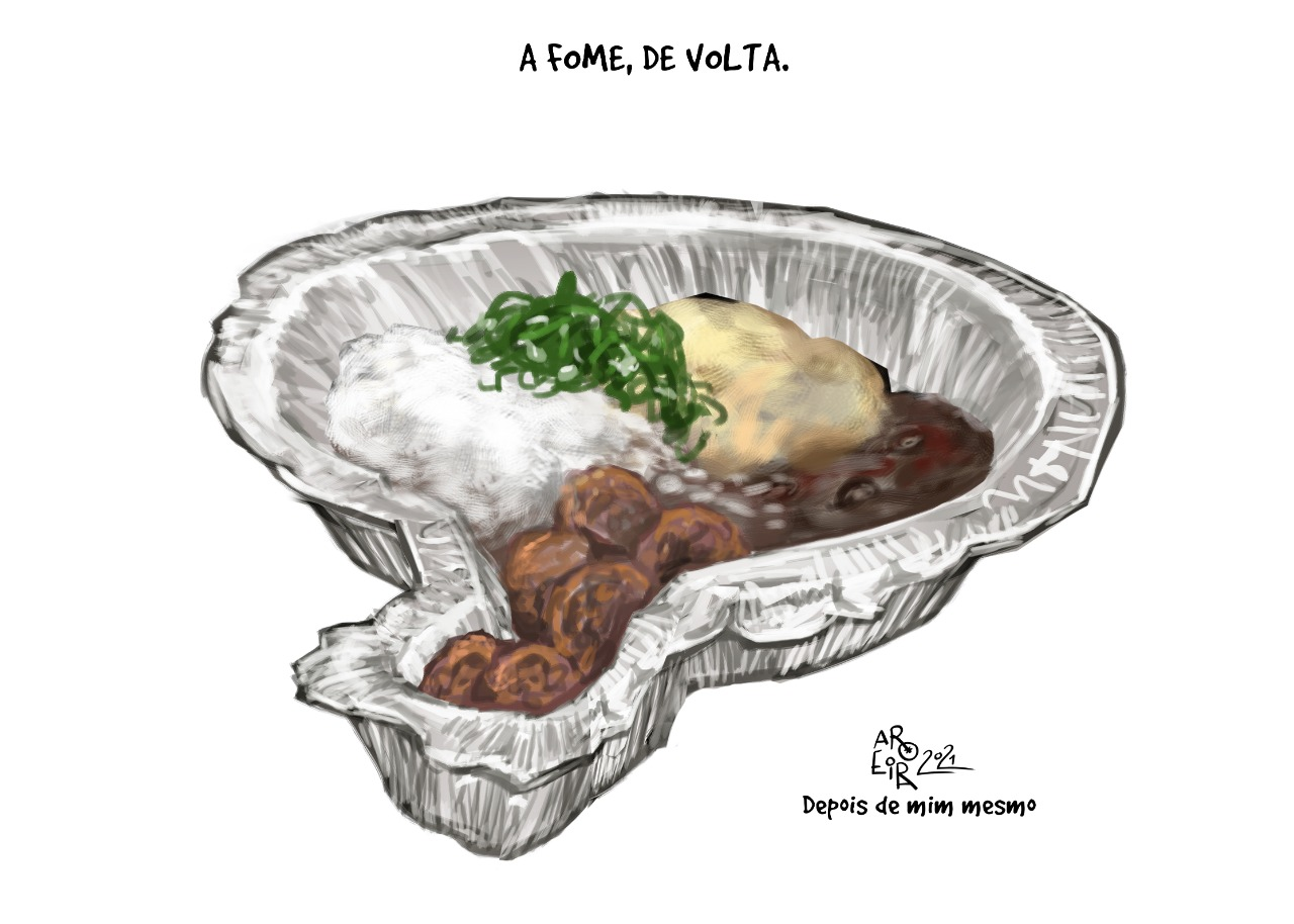 Imagem do Dia: A fome, de volta
