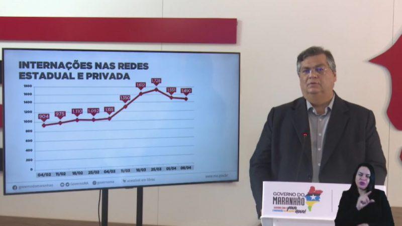 """São Luís/MA – """"Não é hora de tornar mais rígido e nem de aumentar flexibilização"""", diz Flávio Dino"""