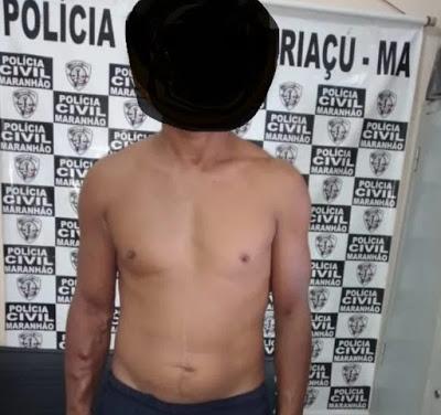 Pinheiro/MA – Policia Civil prende homem acusado de estupro de vulnerável