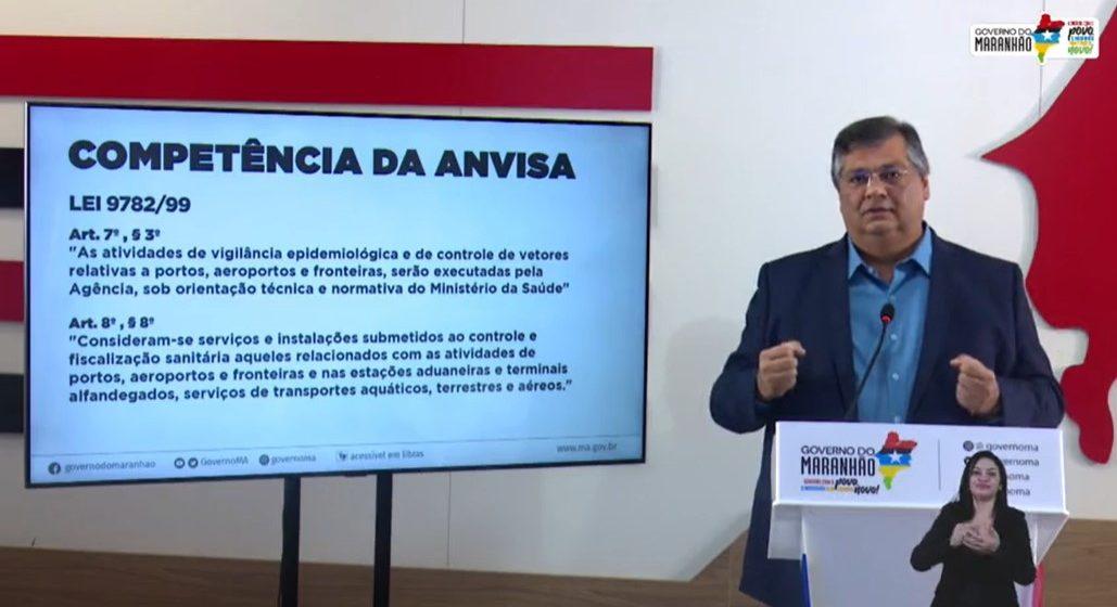 São Luís/MA – Flávio Dino afirma que não existe casos da nova cepa indiana entre maranhenses