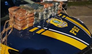 Timon/MA – PRF apreende 52 quilos de cocaína, o flagrante aconteceu na BR-316
