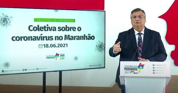 São Luís/MA – O Governador Flávio Dino prorroga medidas vigentes até 28 de junho