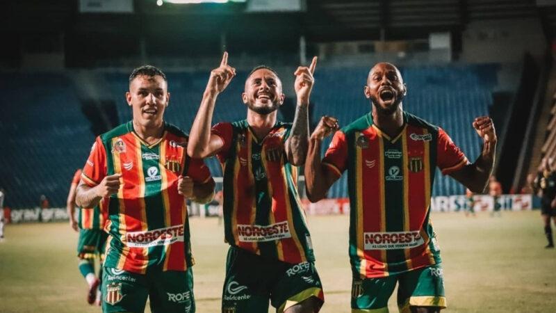 São Luís/MA – Invicto no Castelão, Sampaio bate o Botafogo