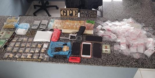 Itinga do Maranhão/MA – Polícia prende dupla por suspeita de tráfico de drogas